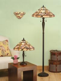 T047W Wandlamp Tiffany B29cm Schelpmodel Climatis