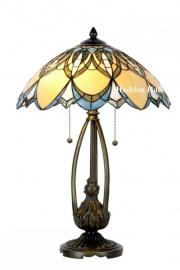 5320 Tafellamp Tiffany H60cm Ø40cm Alphonse