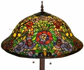 5752-9454 Vloerlamp Tiffany Ø57cm *Ronde voet*
