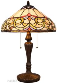 5905 Tafellamp Tiffany H63cm Ø40cm Norman