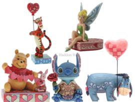 Valentine's Set van 5 Jim Shore beelden