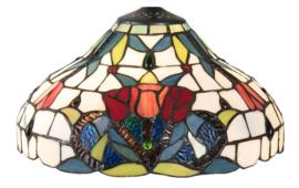 5919 Kap Tiffany Ø31cm Merlot