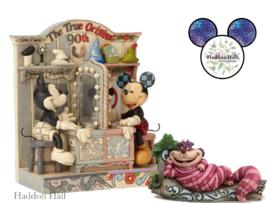 Event Pieces - Mickey 90th Gesigneerd & Cheshire Cat - Jim Shore.