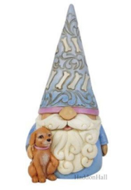Gnome with Dog H14cm - Jim Shore 6010289