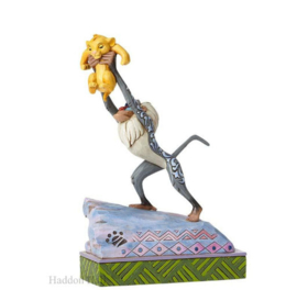 "Lion King  ""Heir to the Throne"" H20,5cm Jim Shore 4055415 Rafiki  Simba"