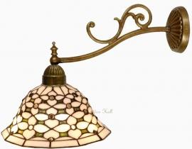 505 1142 Wandlamp met Tiffany kap Ø26cm Jewel