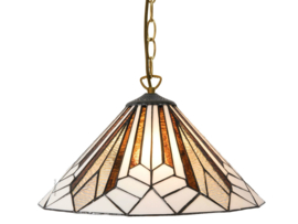5897 97 Hanglamp Tiffany Ø40cm Astoria Brown