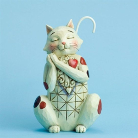 """Heart Full of Love""H14cm Jim Shore cat"