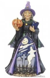 Friendly Witch H22cm Jim Shore 6010667