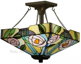 "TG106M SFSQ Hanglamp Plafonniere Mackintosh 35x35cm ""Willow"""