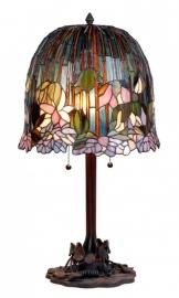 9935 Tafellamp Tiffany H68cm Ø37cm