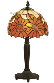 Y8327 Tafellamp Tiffany H36cm Ø20cm Sunflowers