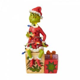 Grinch with Lights H19cm Jim Shore 6008887