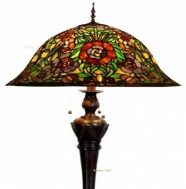 5752-9459 Vloerlamp Tiffany Ø57cm *Bolling in de voet*