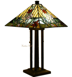 NBS12 5703 Tafellamp Tiffany Tiffany 40x40cm  Paradise