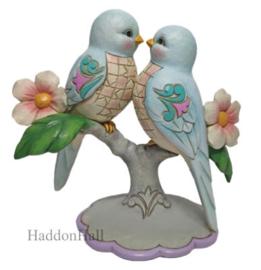 Lovebirds Figurine H16cm Jim Shore 6010270