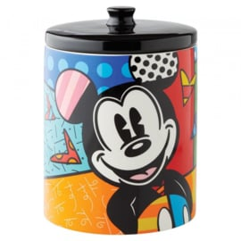 Mickey Mouse Cookie Jar H24cm Ø17cm Disney by Britto 6004975