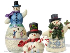 Jim Shore  Sneeuwpoppen / Snowmen