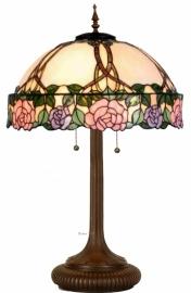 5612 5375 Grote Tafellamp Tiffany H84cm Ø50cm