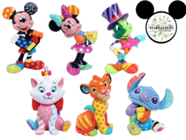 Mini figurines Romero Britto H9cm  - Set van 6