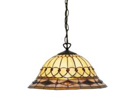 S916007 97 Hanglamp Tiffany Ø40cm Bedford