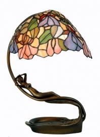799 Bureaulamp met Tiffany luifel