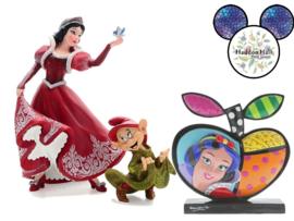 Snow White & Dopey Christmas H 20cm + Britto Icon Snow White Gratis