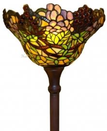 789 Vloerlamp met Tiffany kap Ø30cm Wineyard