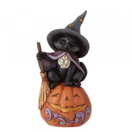Mini Black Cat H9cm Jim Shore 6009515