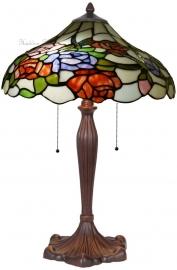 5766 Tafellamp Tiffany H60cm Ø40cm Rosa