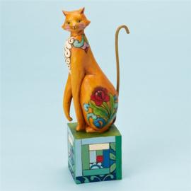 Posh H19cm Jim Shore  4013504  Kat Cat poes