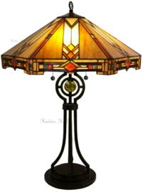 5423 Tafellamp Tiffany H77cm Ø58cm Durban