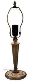 5936 Voet voor Tafellamp met mozaiek H45cm Art Deco Paris