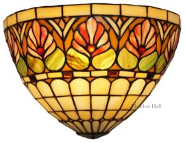 DT26 Wandlamp Tiffany B32cm Schelpmodel Royal