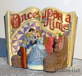 CINDERELLA Storybook  H17cm Jim Shore 4031482 Assepoester Storybook Reintroduction 2019.