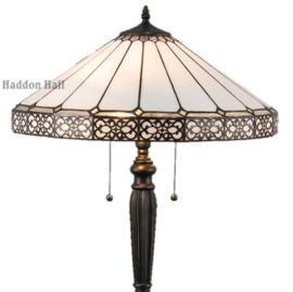 5210 Vloerlamp H157 met Tiffany kap Ø51cm Boleyn