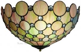 "5800 80 Plafonniere Tiffany Ø40cm ""Pearl"""
