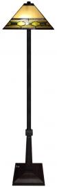 5702 5564 Vloerlamp H161cm met Tiffany kap 36x36cm Memphis