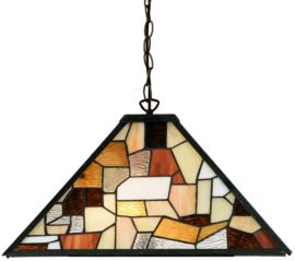 7978 Hanglamp Tiffany 43x43cm Falling Water