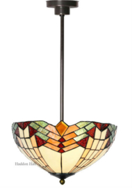 5916 Hanglamp Tiffany Ø40cm Stricta