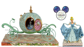 Cinderella Carriage & Cinderella Transformation - Set van 2 Jim Shore beelden