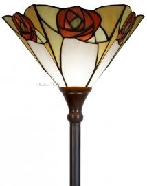 """TA20M Vloerlamp H180cm met Mackintosh kap Ø35cm """"Ingram"""""""