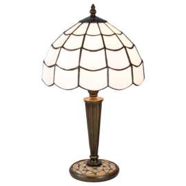 5936 Tafellamp Tiffany H45cm Ø25cm Art Deco Paris