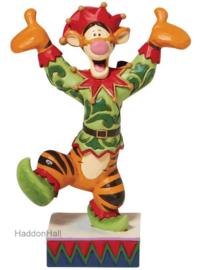Tigger as Christmas Elf - H12,5cm -Jim Shore 6008983
