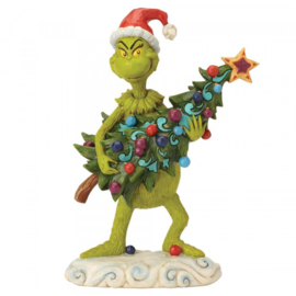 Grinch Stealing Tree H22cm Jim Shore 6002067