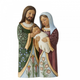 Blessed With A Savior - Holy Family Pint-Sized - H13cm Jim Shore 6006657