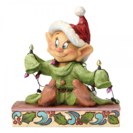 "DOPEY ""Light Up the Holidays"" H 14cm Jim Shore 4057938"