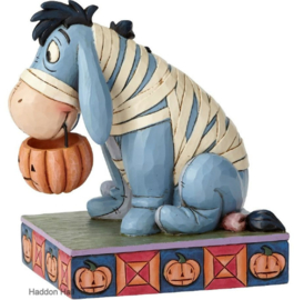EEYORE Melancholy Mummy  H 13cm Jim Shore 6000952 Disney Traditions. Retired