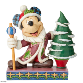 "Mickey ""Father Christmas"" H19cm Jim Shore 6002831"