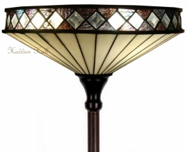 TAP40 V5495 Vloerlamp Tiffany H184cm Ø40cm Fargo